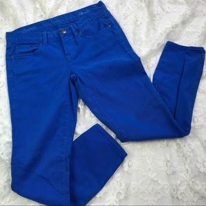 J. Crew Toothpick Ankle 28 Jeans